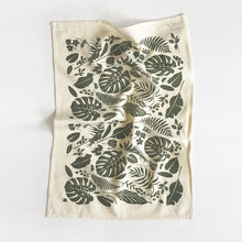 Load image into Gallery viewer, Jungle Kitchen Towel - Natural