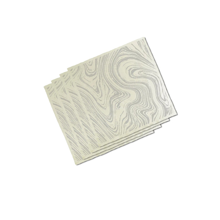 Marble Napkin Set - 4 pcs