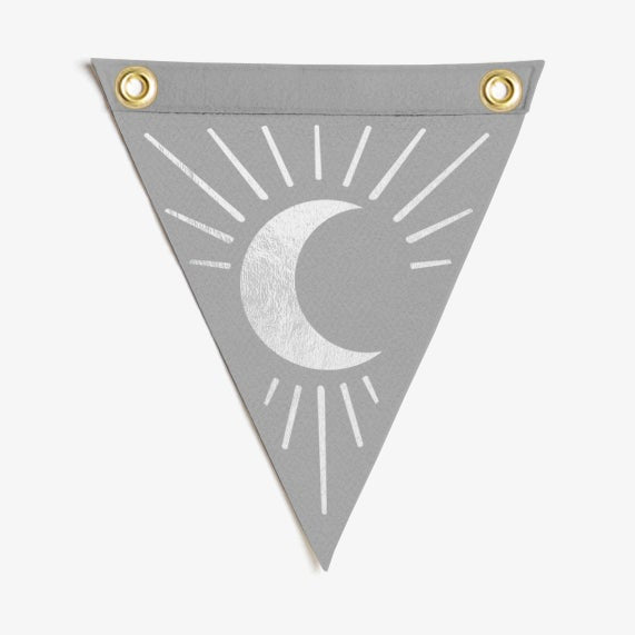 Moon Mini Flag