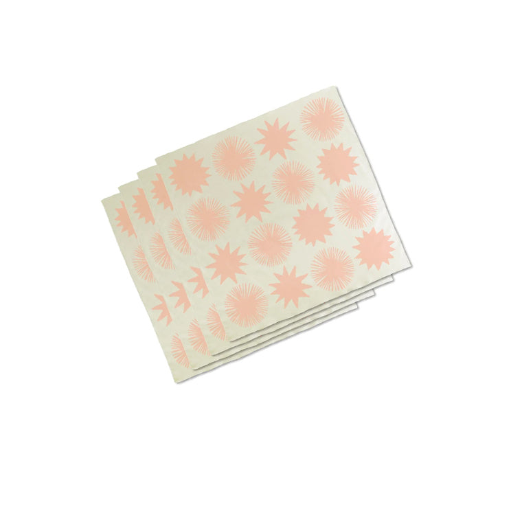 Starburst Napkin Set - 4 pcs