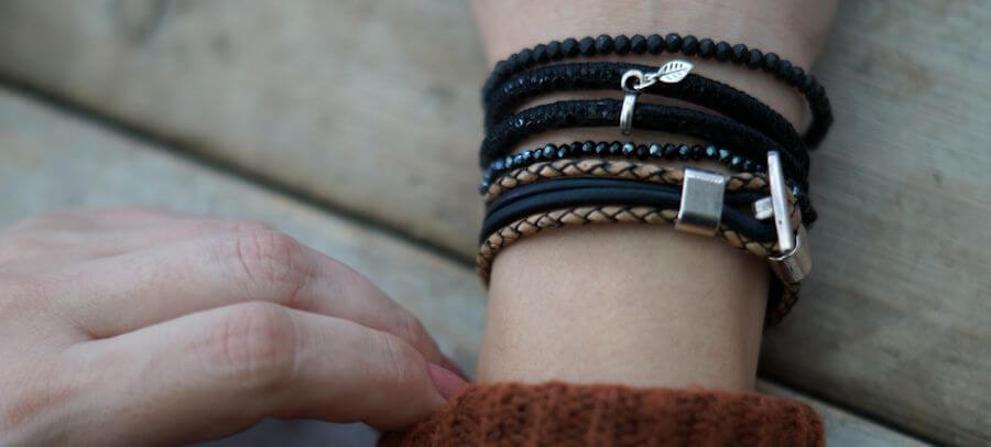 handmade sieraden mix and match armbanden shop je bij handmade by sjiek!