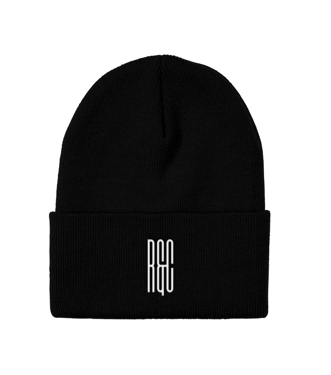 R&C Embroidered Maze Logo Beanie
