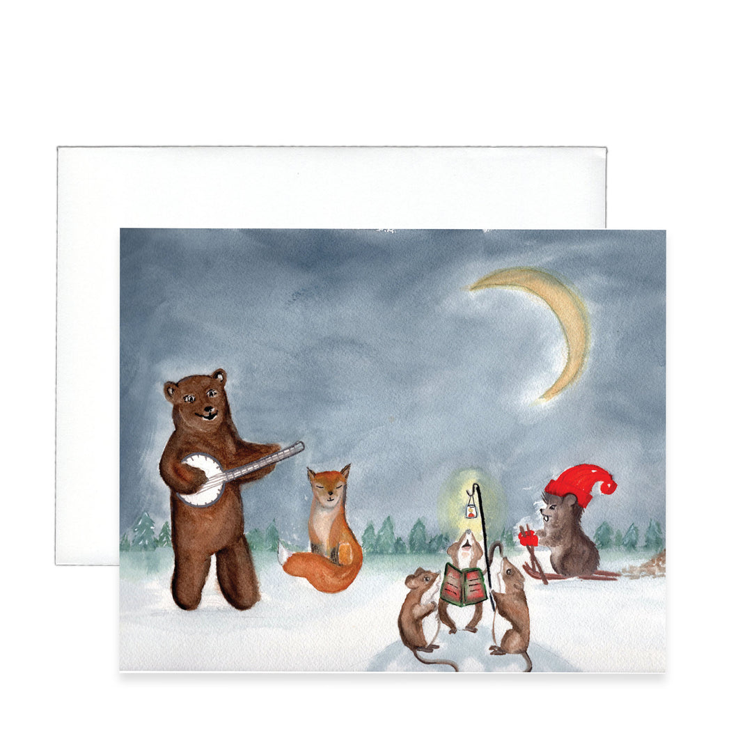 Christmas Jam Greeting Card