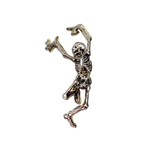 Skeleton Enamel Pin