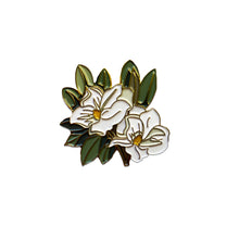 Load image into Gallery viewer, Magnolia Enamel Pin