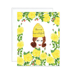 Mother's Day Greeting Card - Bee-utiful