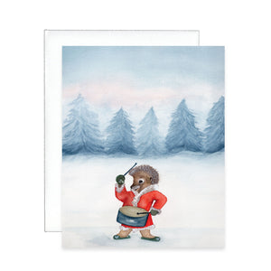 Rocking Christmas Greeting Card