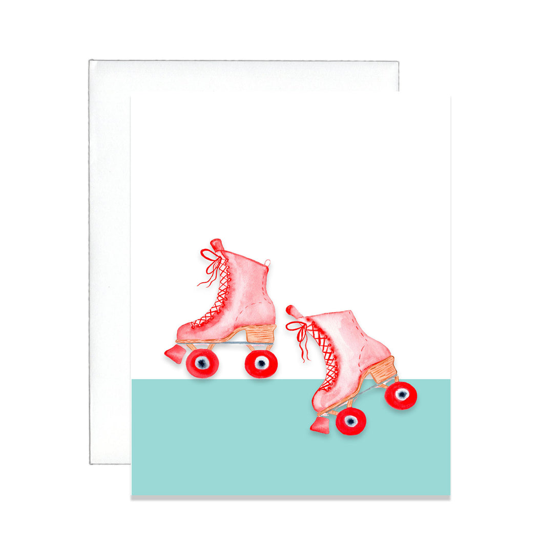 Roll with it Greeting Card