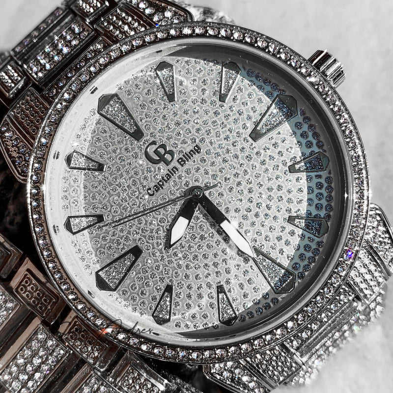 White Gold Watch with Diamonds - San Andrés