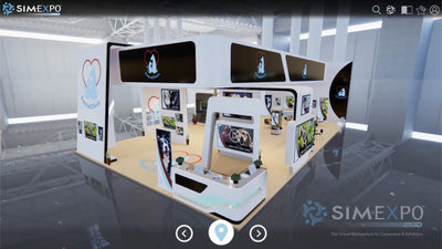 Virtual Large Booth 6