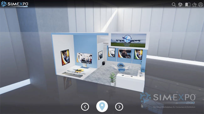 Virtual Small Booth 2