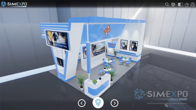 Virtual Small Booth 7
