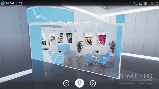 Virtual Small Booth 9