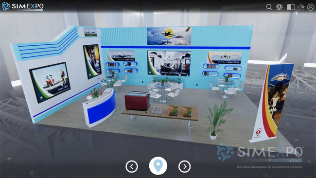 Virtual Small Booth 23