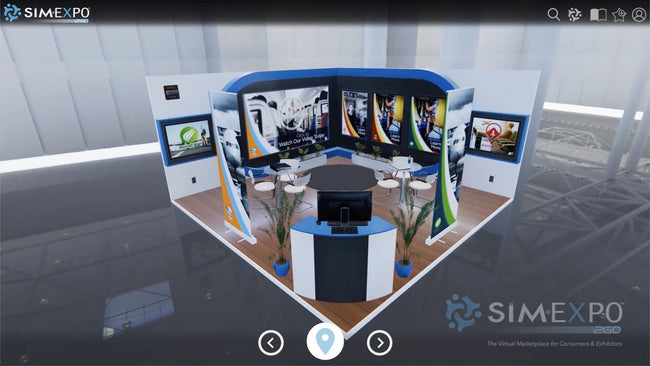Virtual Small Booth 32