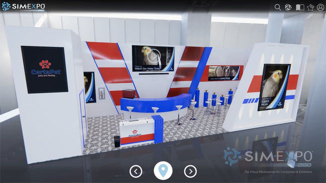 Virtual Small Booth 34