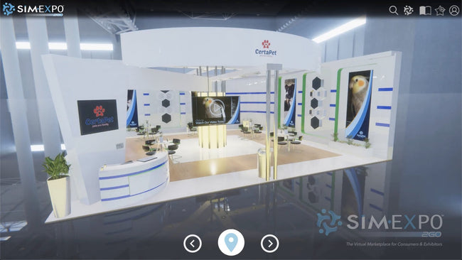 Virtual Small Booth 37