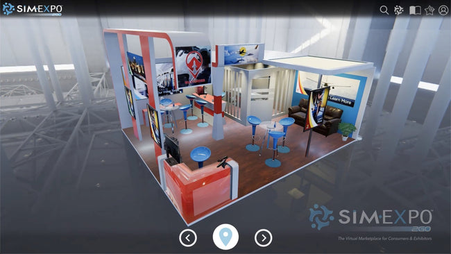 Virtual Small Booth 38