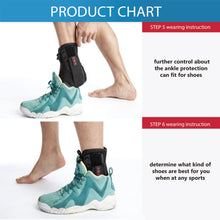 Load image into Gallery viewer, Ankle Brace Support Adjustable Protector