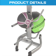 Load image into Gallery viewer, 10pcs Medicine Ball Storage Rack