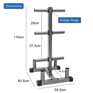 Olympic Weight Plates Steel Rack Holder