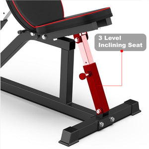 Squat Rack+ Incline Flat Bench Package