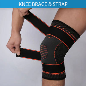 Elastic Sports Stretch Knee Brace