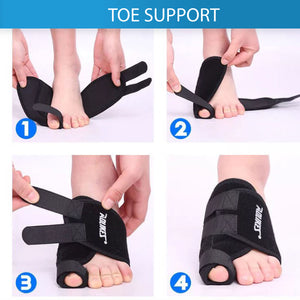 Toe Bunion Splint Straightener Corrector