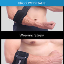 Load image into Gallery viewer, Adjustable Elbow Support Brace Strap Band