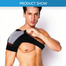 Load image into Gallery viewer, Adjustable Shoulder Support Brace Strap Heat Patch