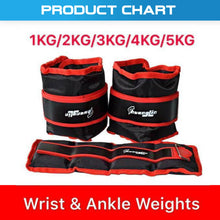 Load image into Gallery viewer, Adjustable Ankle/ Wrist/ Leg Weights