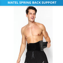 Load image into Gallery viewer, Steel Splint Sprain Belt Strap Brace