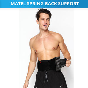Steel Splint Sprain Belt Strap Brace
