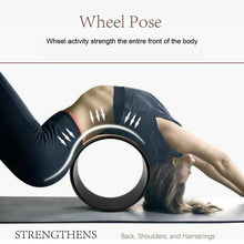 Load image into Gallery viewer, Cork Yoga Pilates Wheel