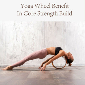 Cork Yoga Pilates Wheel