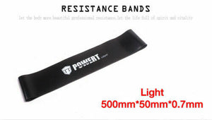 Black Power Resistance Band Loop