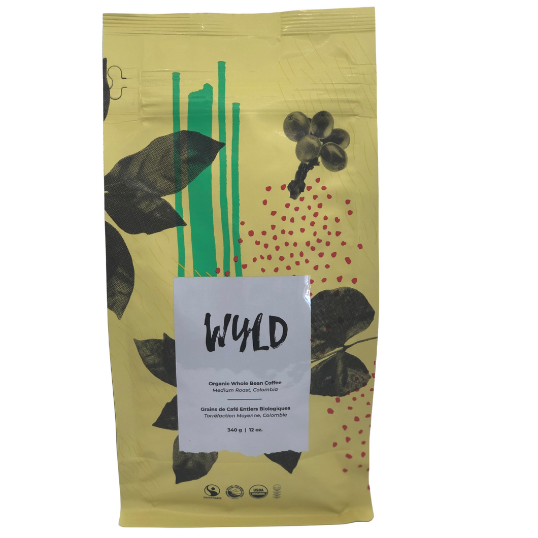 Wyld Coffee - Medium Roast - Colombia