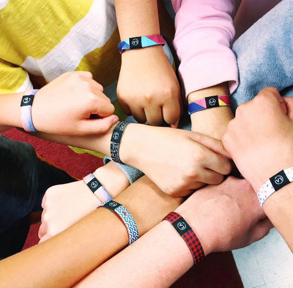 Classroom Rewards Program gives Refocus Band wristbands to teachers through a Match Donation Program.