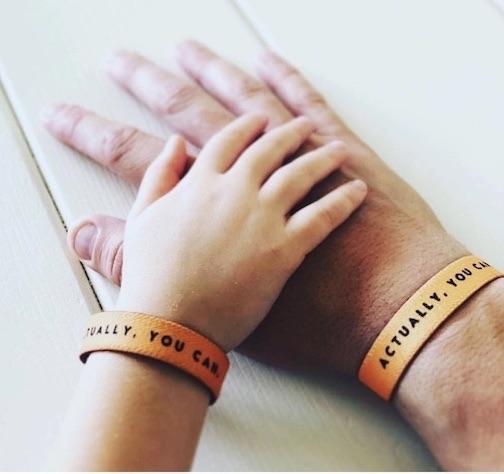 The best Father's Day gift and how a motivational bracelet can keep your family feeling positive.