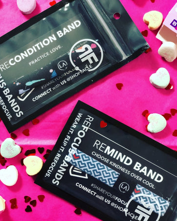 The best Valentine's Day Gift Guide and the cute Refocus Bands that are great for anyone special in your life!