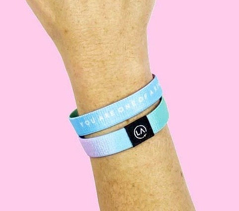 The best inspirational bracelet gift to remind someone that they are one of kind!