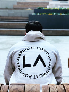 Keeping it Positive Hoodie