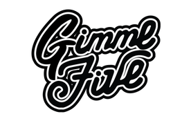 Gimme Five Enamel Pin - La Clé