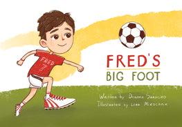Fred's Big Foot - Children's Book