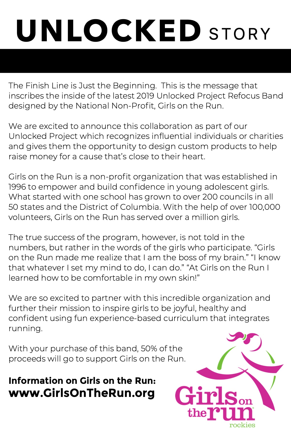 Girls On The Run -