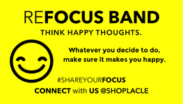 "Happy Band Blue <p>""Think Happy Thoughts"" - La Clé"