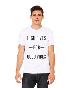 High Fives for Good Vibes T-shirt - La Clé