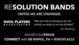 "THE RESOLUTION BANDS <p>""United we are stronger."" - La Clé"