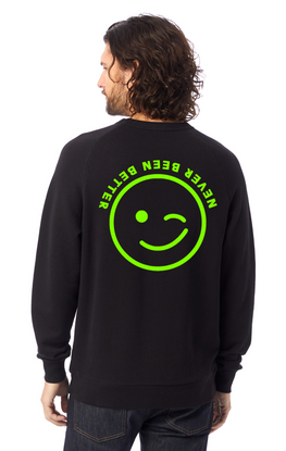 Never Been Better (BLACK) - FEEL GOOD SWEATER
