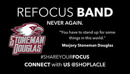 Limited Edition Stoneman Douglas Refocus Band - La Clé